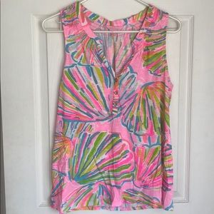 Lilly Pulitzer sleeveless tank top size M